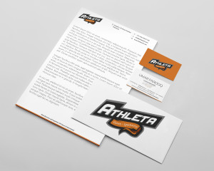 Stationery Mockup athletica